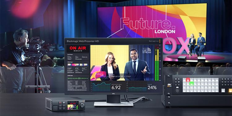 Blackmagic Design Announces New Web Presenter HD