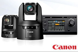 Canon Launches New Line of 4K PTZ Cameras