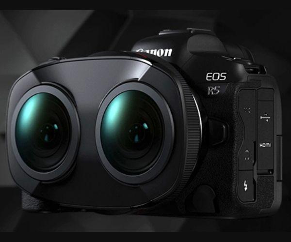 Canon revolutionises 180° VR