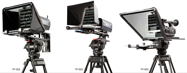 Ditch the Printed Script with Datavideo Teleprompters