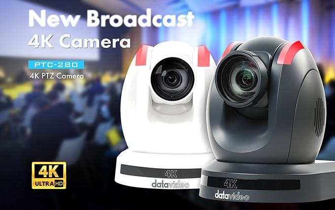 Datavideo Unveils PTC-280 4K PTZ Camera