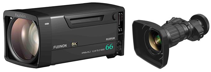 FUJIFILM Launches 8K UHD Broadcast Lenses