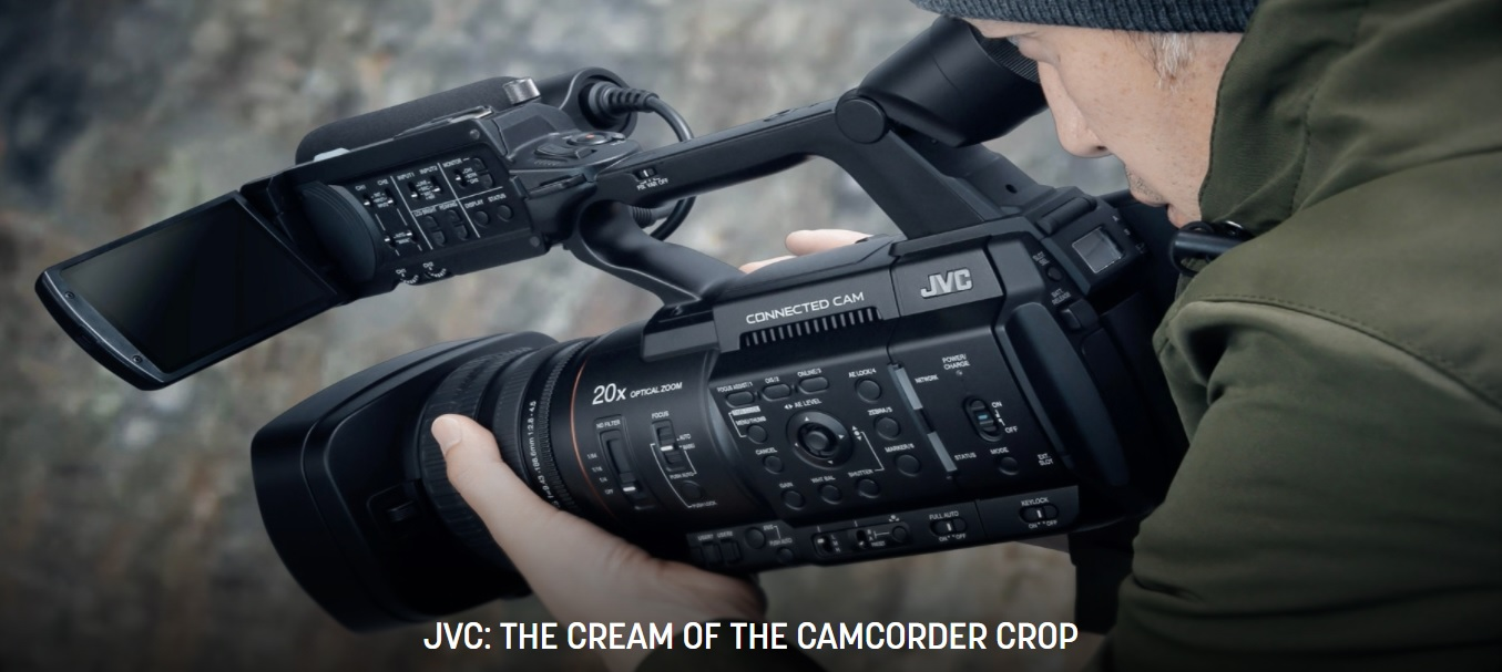 JVC: The Cream of the Camcorder Crop