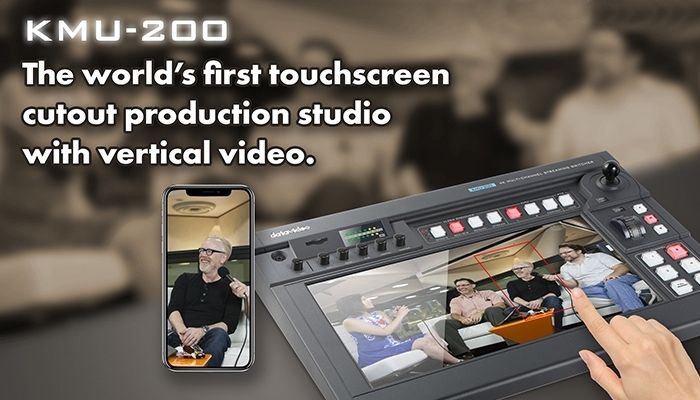 Datavideo KMU-200 - Production At Your Fingertips