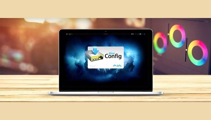AJA Releases Mini-Config v2.26.2