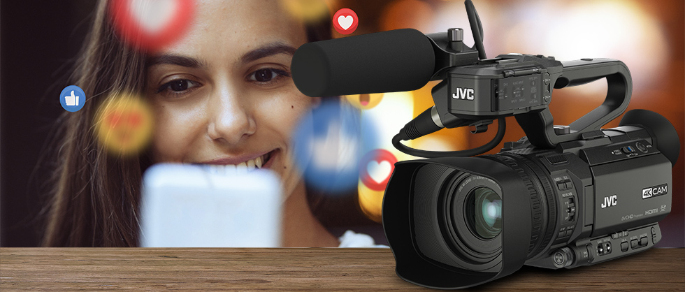 JVC unveils live streaming-focused firmware updates for its GY-HM250 and 4KCAM Series camcorders