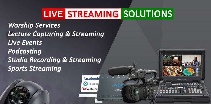Live Streaming Solutions Streamport